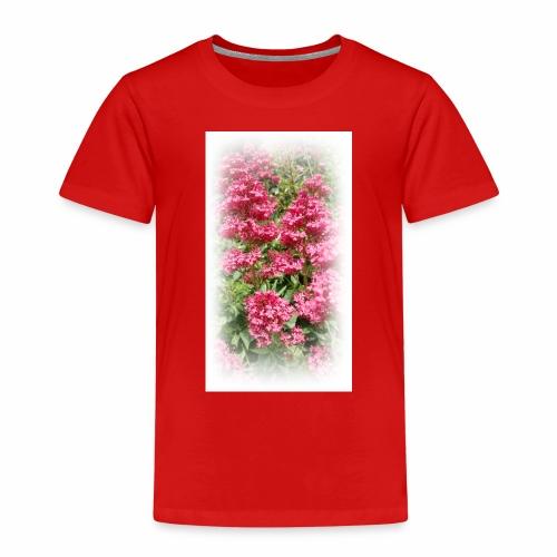 Red Flower - Kids' Premium T-Shirt