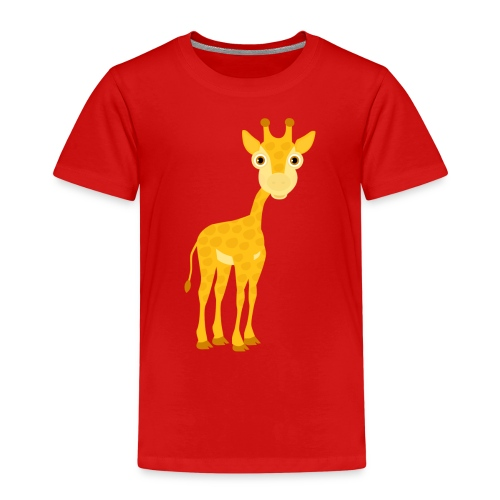 Giraffe - Kinder Premium T-Shirt