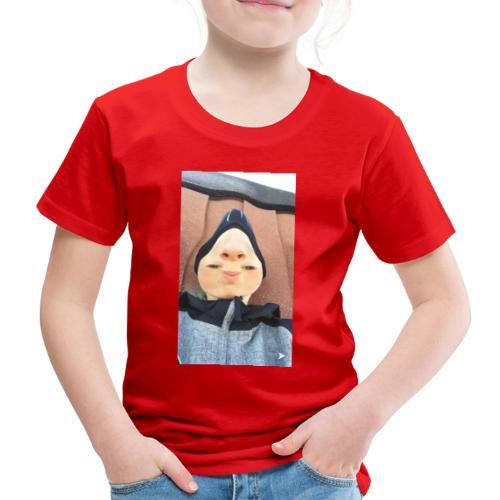 Nathalii är en näs-modell - Premium-T-shirt barn