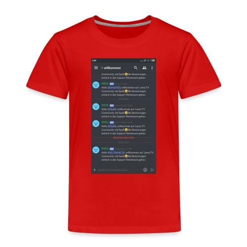 Zu meinem Server - Kinder Premium T-Shirt