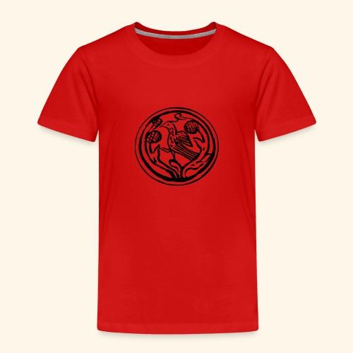 Vogel in boom - Kinderen Premium T-shirt