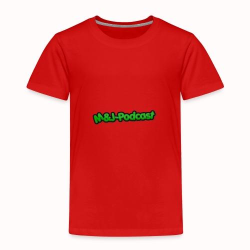 Michael & Jesper - Podcast (Deluxe) - Børne premium T-shirt
