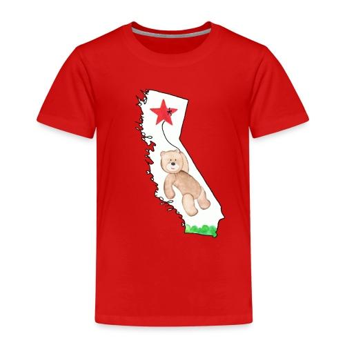 Cali-Bear - Kinder Premium T-Shirt