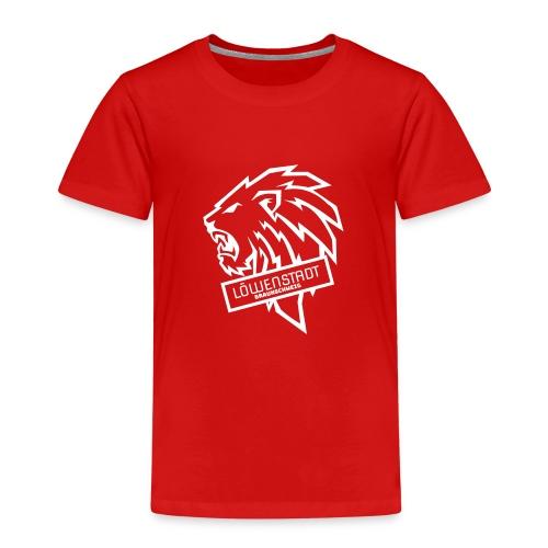Löwenstadt Design 9 weiss - Kinder Premium T-Shirt