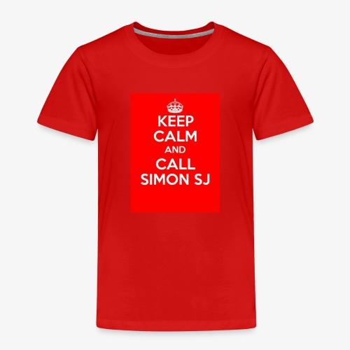 Keep Calm And Call Simon SJ - Premium-T-shirt barn