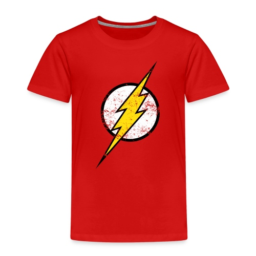 DC Comics Justice League Flash Logo - Kinder Premium T-Shirt