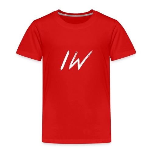 Itzwout design zwart/wit kinderen 6-14Jaar - Kinderen Premium T-shirt
