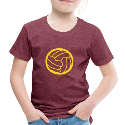 I <3 football! - T-shirt Premium Enfant