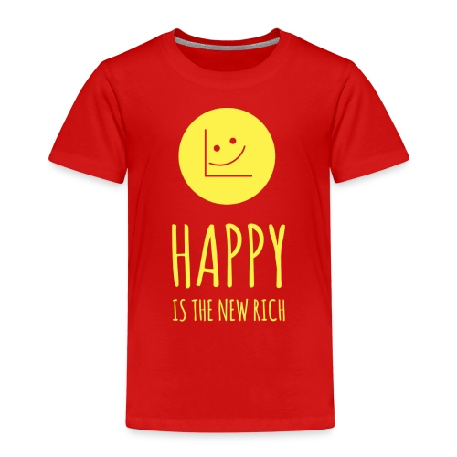 Happy is the new rich - Kids' Premium T-Shirt
