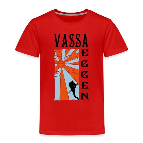 Mot Horisonten 3 Färger - Premium-T-shirt barn