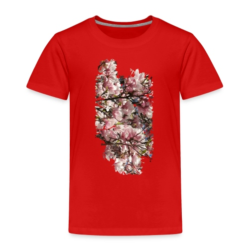 Tree Flower - Kinder Premium T-Shirt