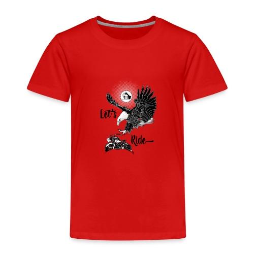 Baldeagle met een panhead - Kinderen Premium T-shirt