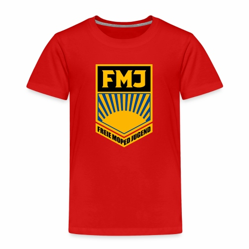 Freie Moped Jugend FDJ Parodie - Kids' Premium T-Shirt