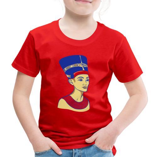 Nefertiti - Nofretete - Die Schöne - Kinder Premium T-Shirt