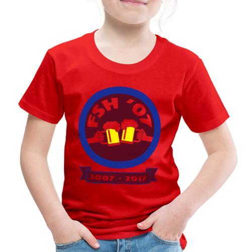 FSH RUND ny - Premium-T-shirt barn