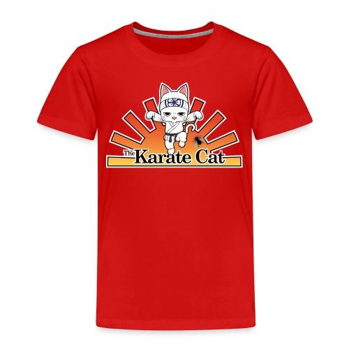 Karate Cat - Kinder Premium T-Shirt