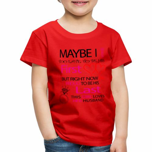Ich liebe meinen Mann - Geschenkidee - Kids' Premium T-Shirt