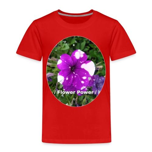 Flower Power 2 - Kinder Premium T-Shirt