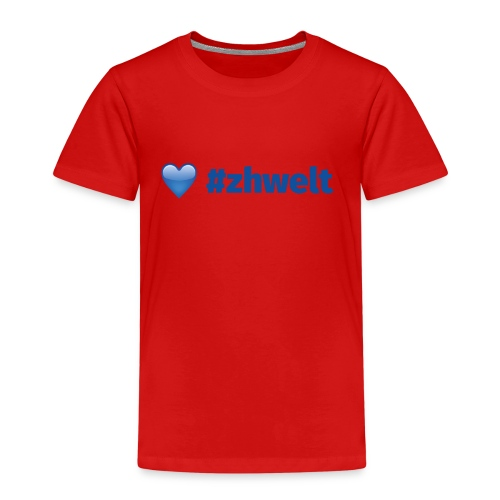 ZHWELT LOGO rechts - Kinder Premium T-Shirt
