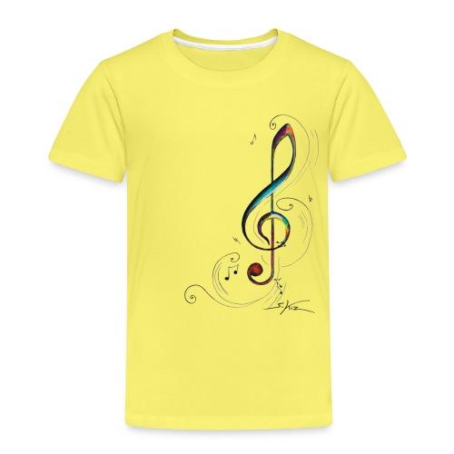 Clef de sol - T-shirt Premium Enfant