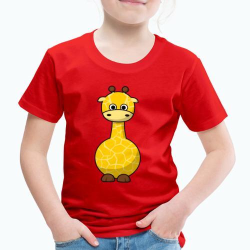 Gigi Giraffe - Appelsin - Premium-T-shirt barn