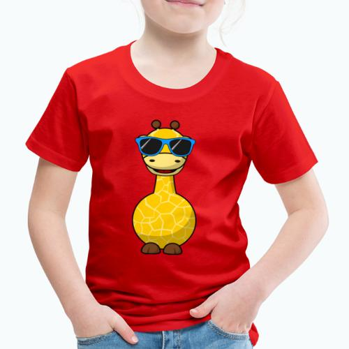 Gigi Giraffe with sunglasses - Appelsin - Premium-T-shirt barn