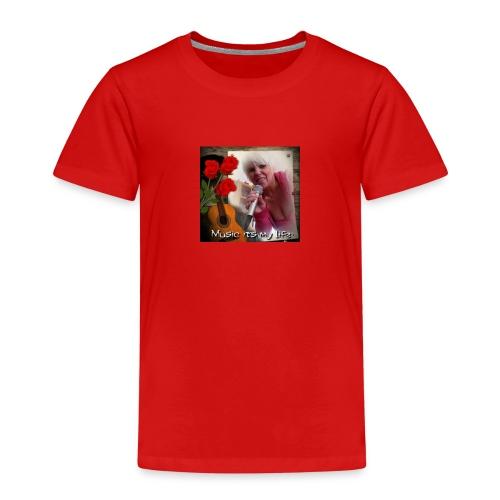 Sängerin Anja Busch - Kinder Premium T-Shirt