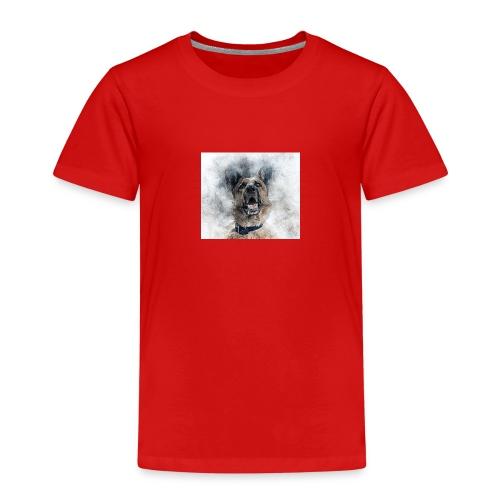 dog hund - Kinder Premium T-Shirt