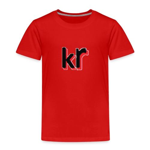 kevinrubinkie logo voor webshop - Kinderen Premium T-shirt