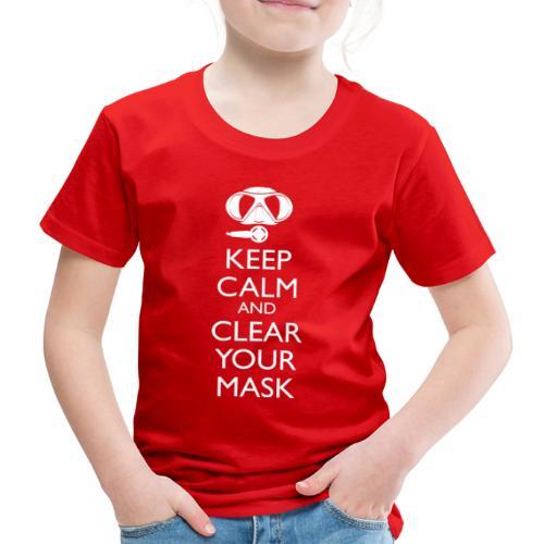 Keep Calm and clear your Mask Männer Tank Top - Kinder Premium T-Shirt