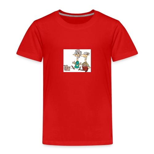 Alle folk kan være seje også gamle mennesker - Børne premium T-shirt