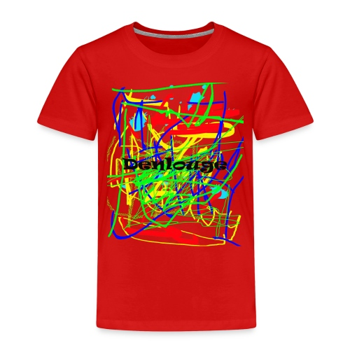 Denlouge Abstract - Kinder Premium T-Shirt