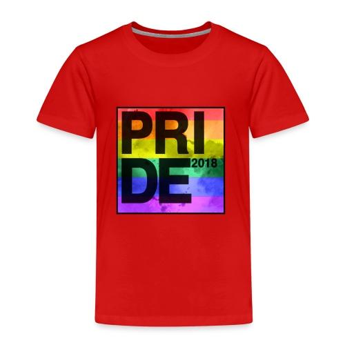 Pride 2018 Rainbow Block - Kids' Premium T-Shirt