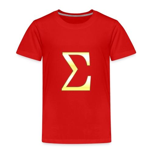 Sigma in Gold - Kinder Premium T-Shirt