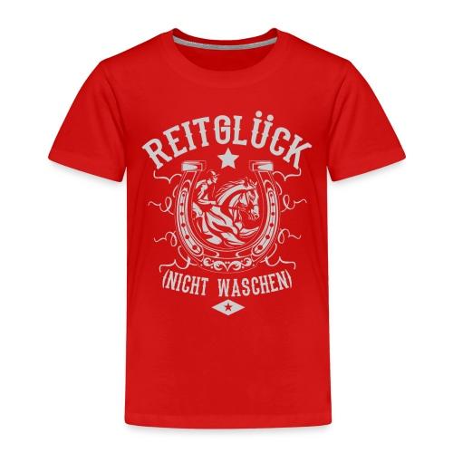 Pferde Shirt · Reiten · Reitsport · Reitglück - Kinder Premium T-Shirt