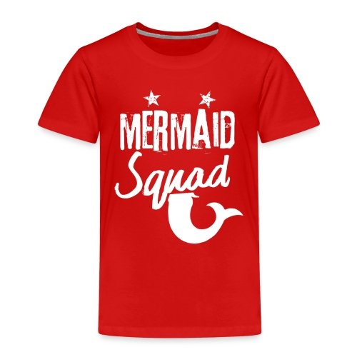 Meerjungfrau-Trupp-Kader - Kinder Premium T-Shirt