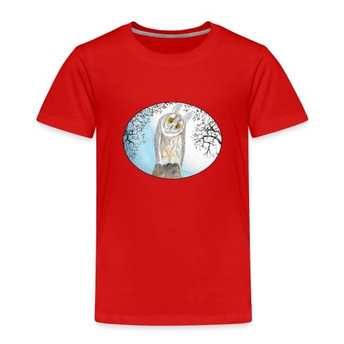 freundliche Waldohreule - Kinder Premium T-Shirt