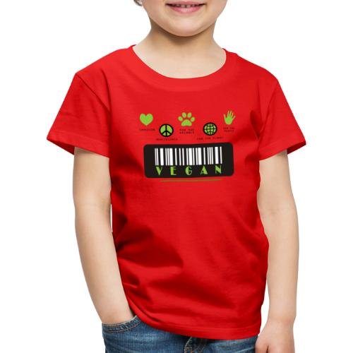 Vegan Collection - Kinderen Premium T-shirt