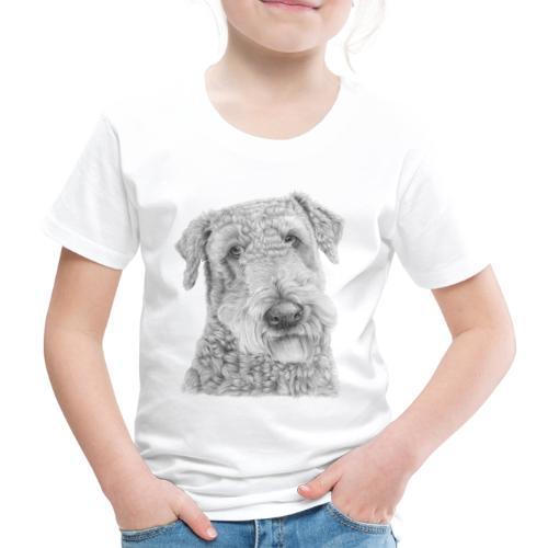 airedale terrier - Børne premium T-shirt
