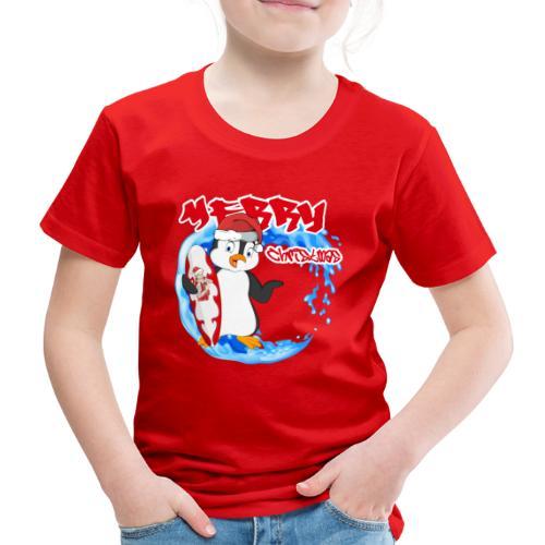Pinguin Weihnachten - Kinder Premium T-Shirt