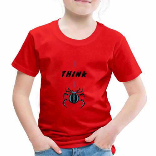 I think I spider - Denglish - Kinder Premium T-Shirt