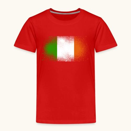 Irland Grunge irische Flagge lustig Geschenk Ire - T-shirt Premium Enfant