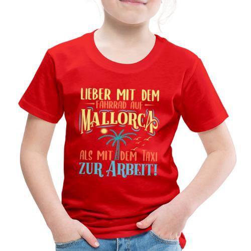 Mallorca mit dem Fahrrad - Biker Tour auf Mallorca - Kinder Premium T-Shirt