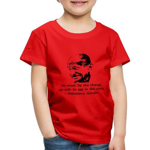 Be the Change - Kids' Premium T-Shirt