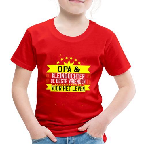 OPA EN KLEINDOCHTER BESTE VRIENDEN VOOR HET LEVEN - Kinderen Premium T-shirt