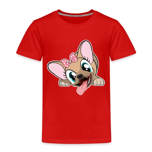 Be Happy with Naya Ze Frenchie - T-shirt Premium Enfant