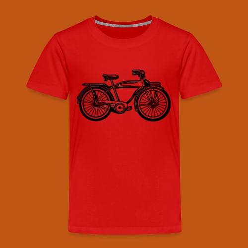 Beach Cruiser Fahrrad 01_schwarz - Kinder Premium T-Shirt