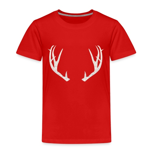 Jäiset poronsarvet - Lasten premium t-paita