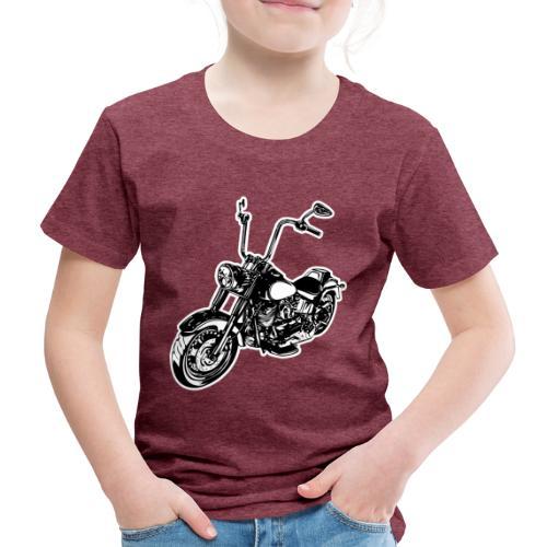 Moto Softail - Camiseta premium niño