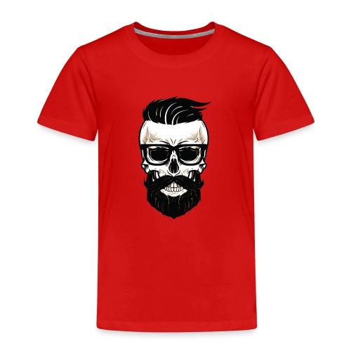 Bearded Dads Skull - Kinder Premium T-Shirt